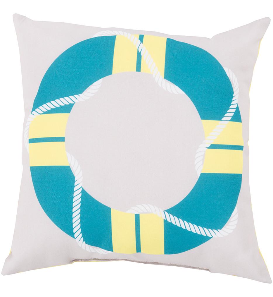 Surya - Live Saver Decorative Pillow