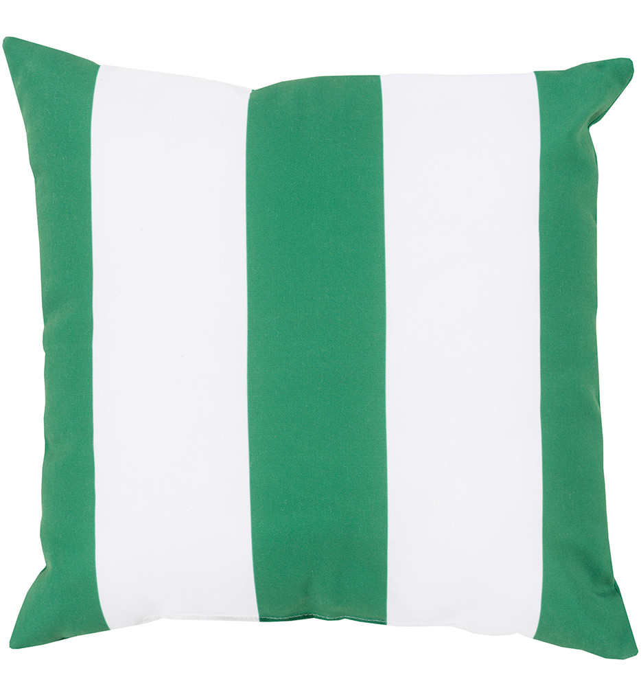 Surya - Wide Stripe Decorative Pillow