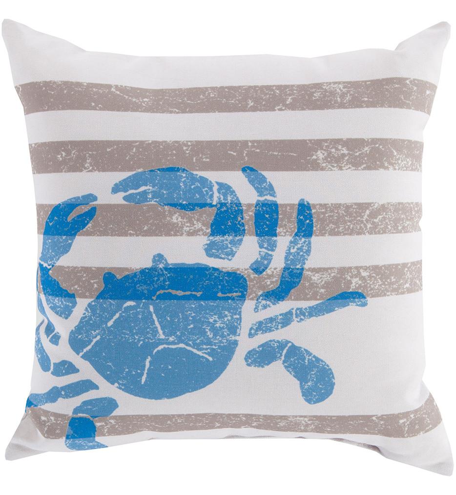 Surya - Crab Decorative Pillow