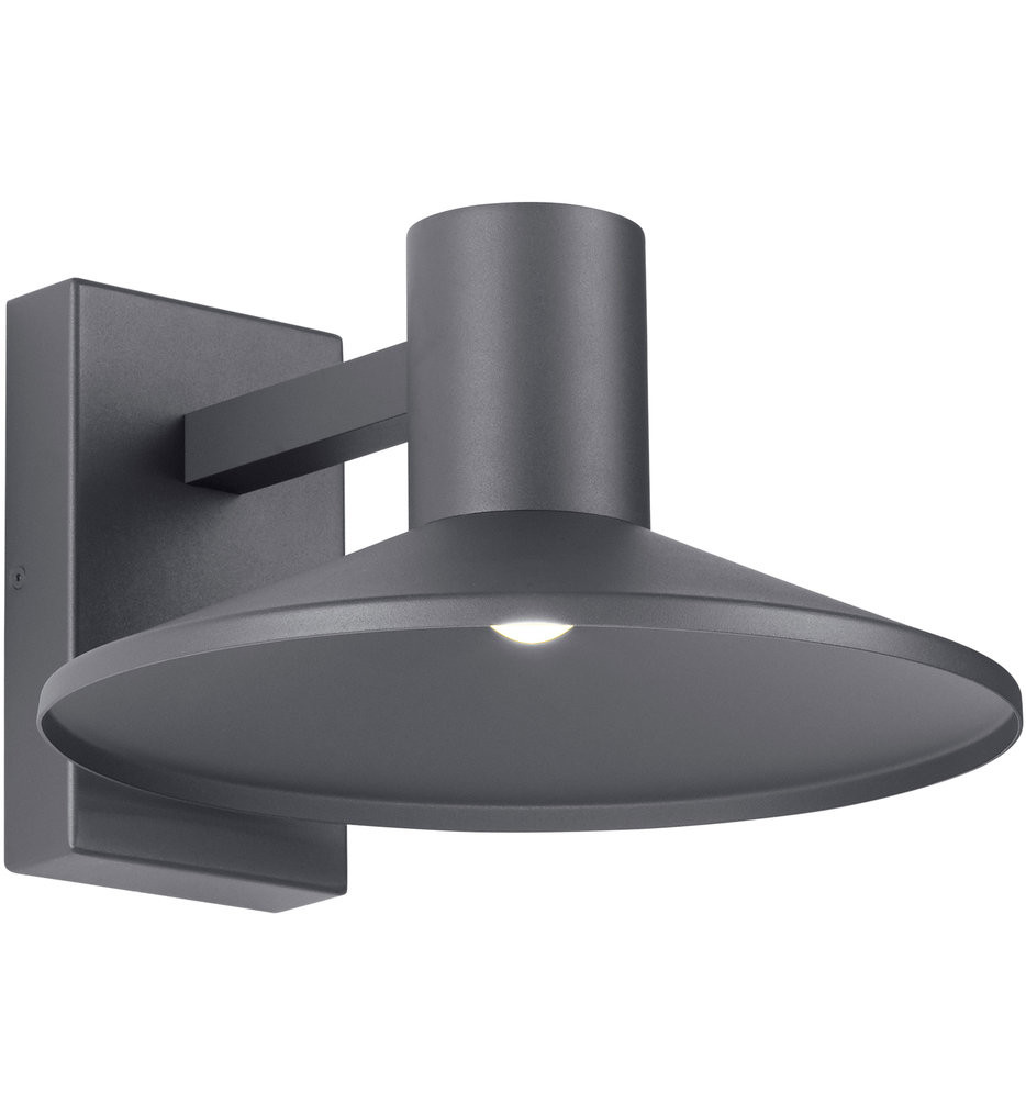 Tech Lighting - Ash 12.5 Inch Outdoor Wall Sconce