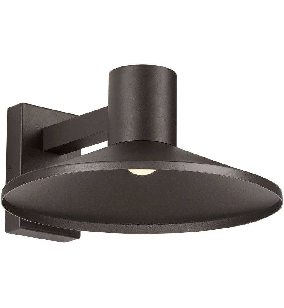 Tech Lighting - Ash 16 Inch Outdoor Wall Sconce