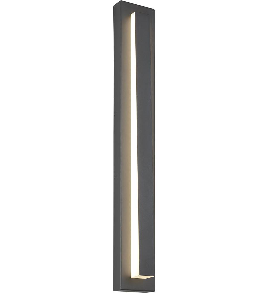 Tech Lighting - Aspen Wedge 36 Inch Outdoor Wall Sconce