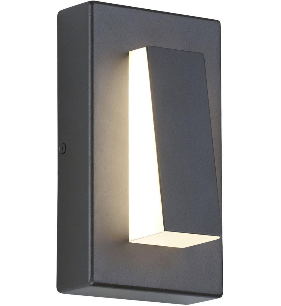 Tech Lighting - Aspen Wedge 8 Inch Outdoor Wall Sconce