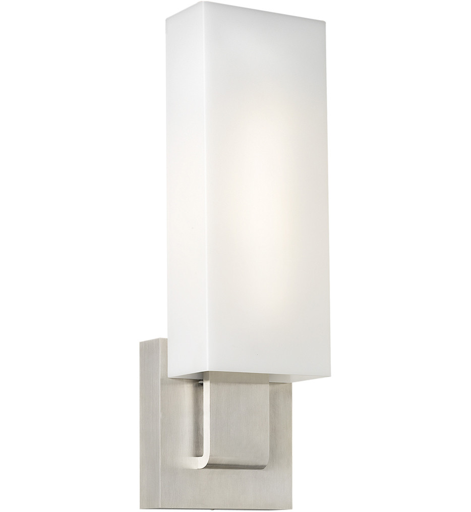 Tech Lighting - Kisdon Wall Sconce with White Glass Shade