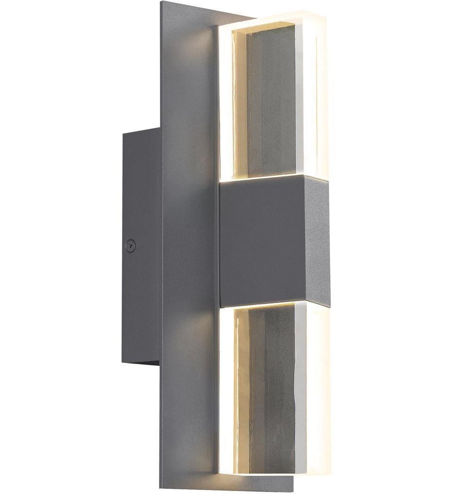 Tech Lighting - Lyft 12.5 Inch Outdoor Wall Sconce
