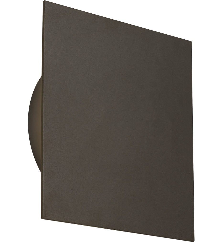 Tech Lighting - Port Square 13 Inch Outdoor Wall Sconce