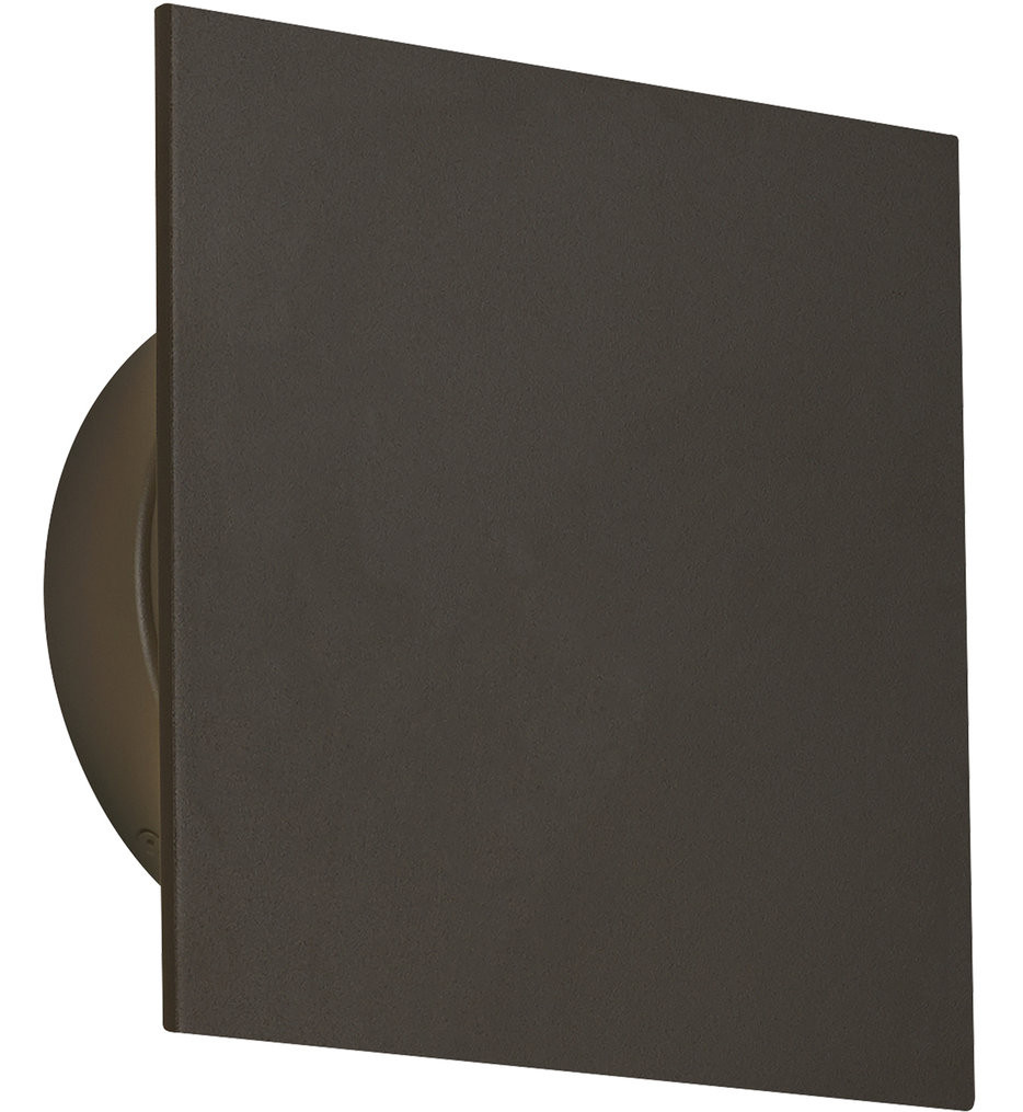 Tech Lighting - Port Square 8 Inch Outdoor Wall Sconce