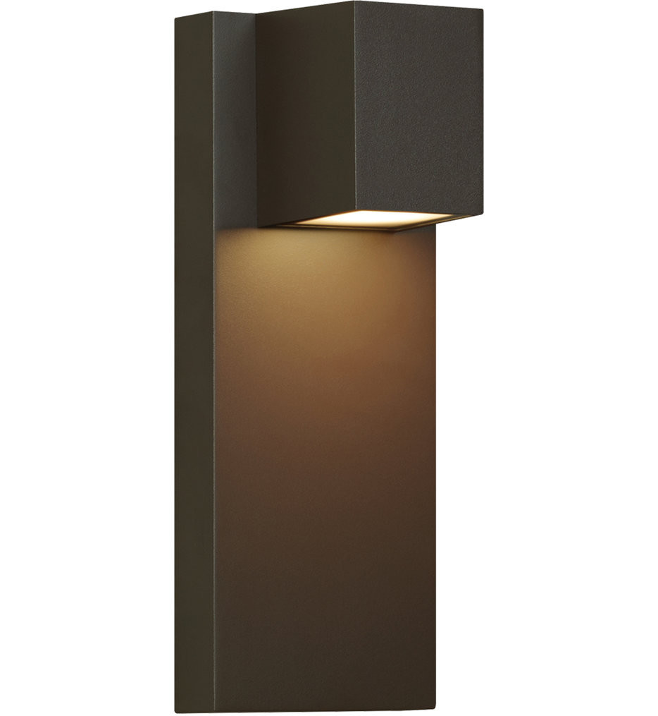 Tech Lighting - Quadrate Outdoor Wall Sconce