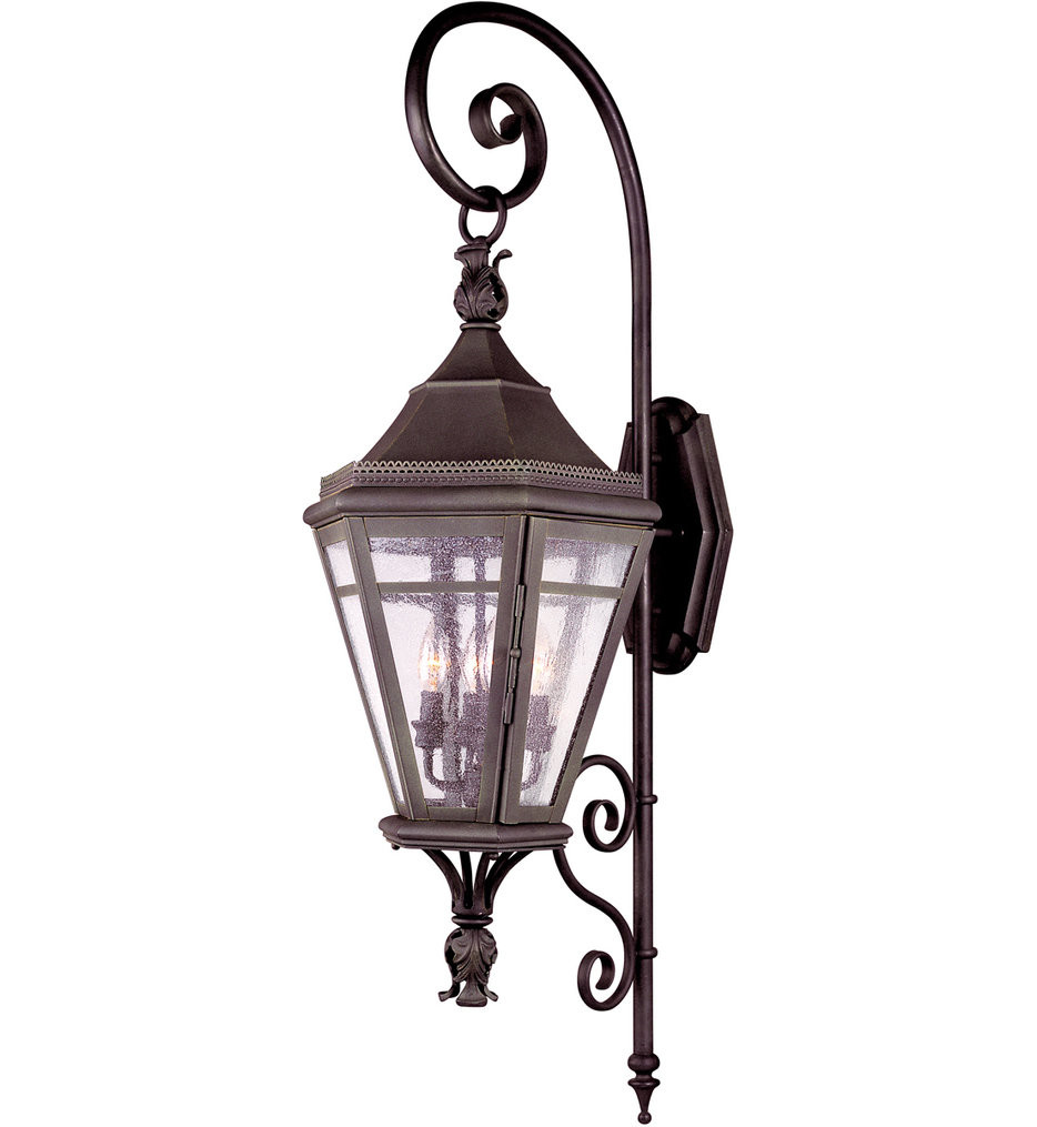 Troy Lighting - B1273NR - Morgan Hill Natural Rust 4 Light Outdoor Wall Lantern