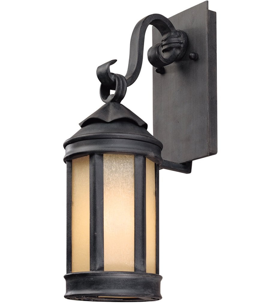 Troy Lighting - B1461AI - Andersons Forge Antique Iron 15.75 Inch Outdoor Wall Lantern