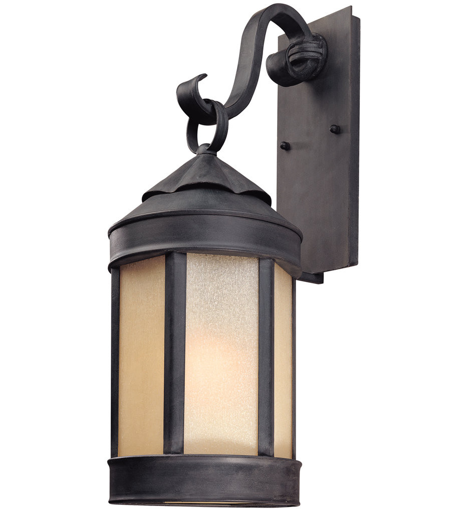 Troy Lighting - B1463AI - Andersons Forge Antique Iron 24 Inch Outdoor Wall Lantern