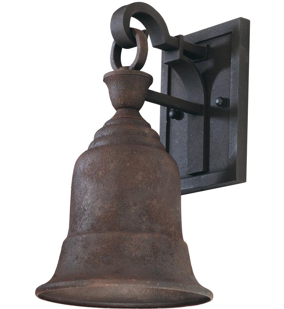 Troy Lighting - B2361CR - Liberty Centennial Rust 11.5 Inch Outdoor Wall Lantern