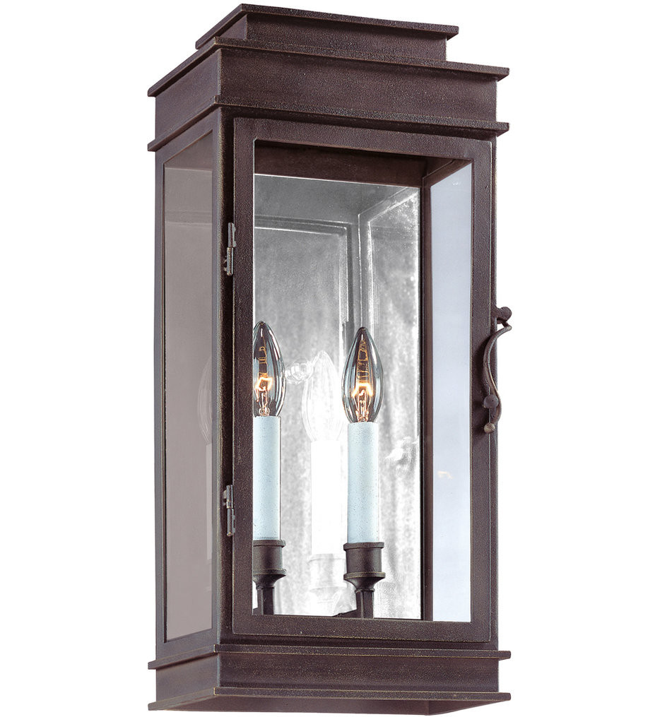 Troy Lighting - B2972 - Vintage Vintage Bronze 20 Inch 2 Light Outdoor Wall Lantern