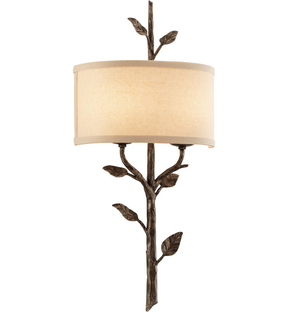 Troy Lighting - B3182 - Almont Bronze Leaf 2 Light Wall Sconce