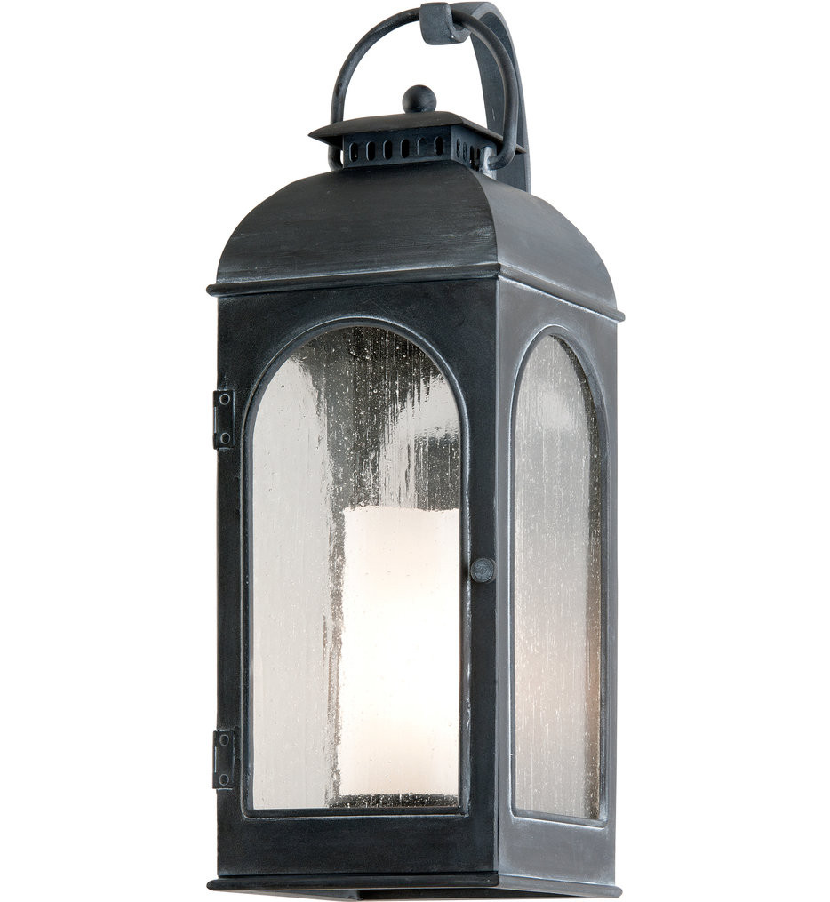 Troy Lighting - B3282 - Derby Antique Iron 23 Inch Outdoor Wall Lantern