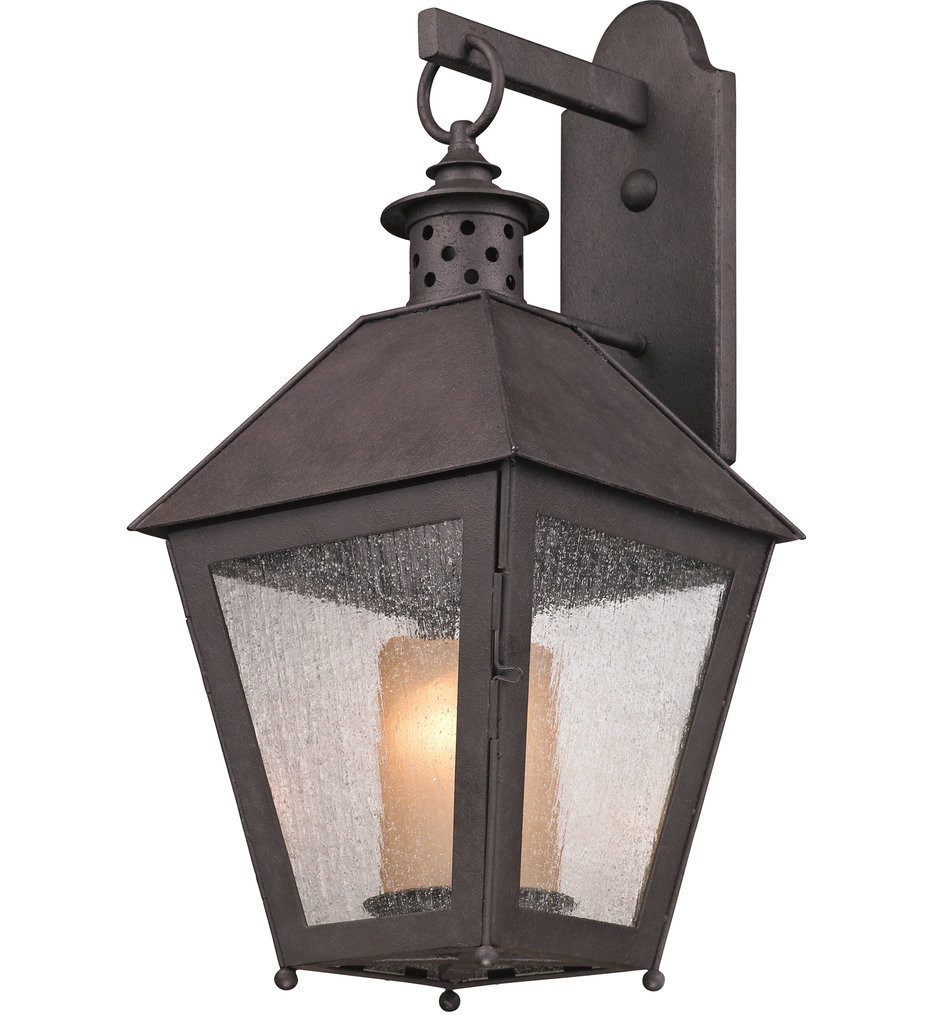 Troy Lighting - B3293 - Sagamore Centennial Rust 22.75 Inch 1 Light Outdoor Wall Lantern