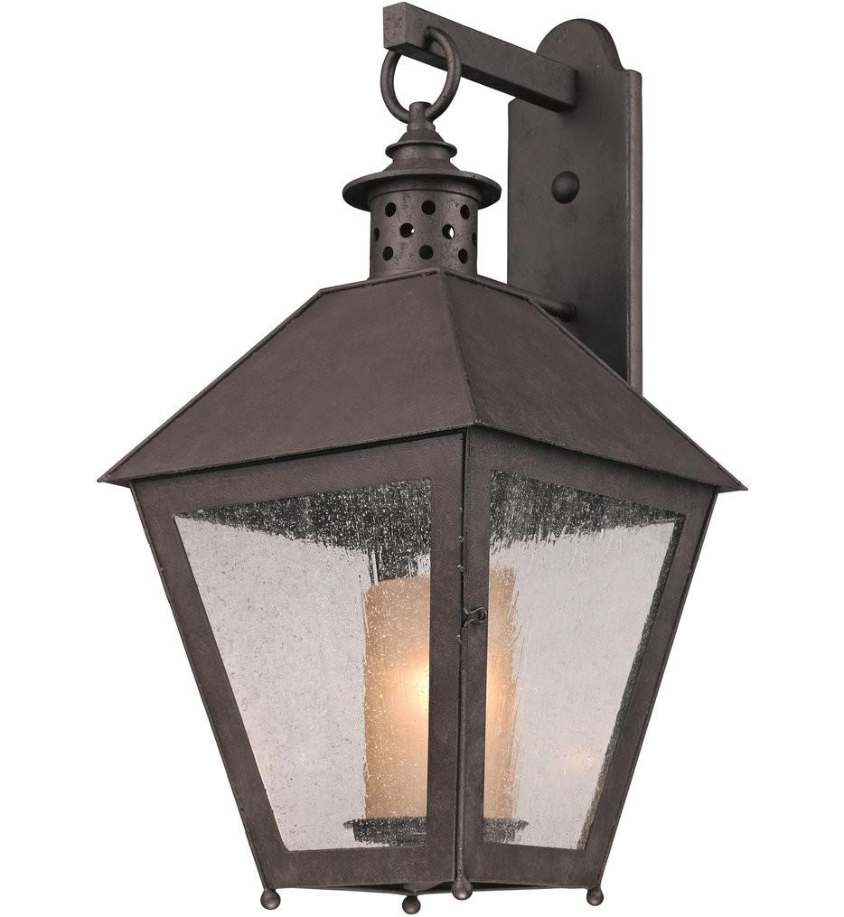Troy Lighting - B3294 - Sagamore Centennial Rust 26.5 Inch 1 Light Outdoor Wall Lantern