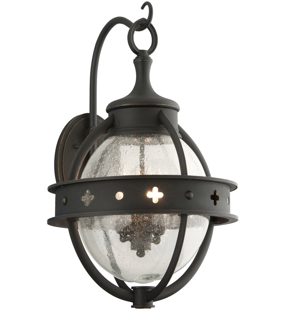 Troy Lighting - B3683 - Mendocino Forged Black 4 Light Outdoor Wall Lantern