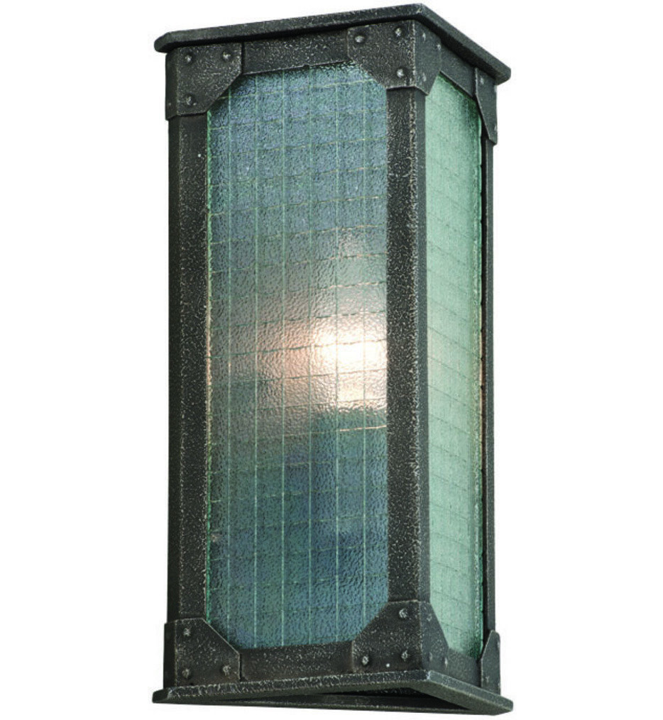 Troy Lighting - B3871 - Hoboken Aged Pewter 1 Light Wall Sconce