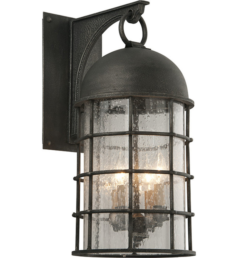 Troy Lighting - B4433 - Charlemagne Aged Pewter 4 Light Outdoor Wall Lantern
