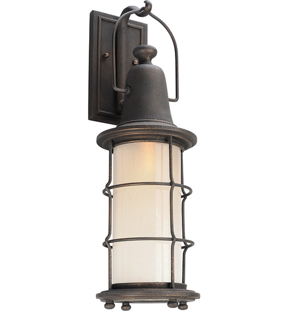 Troy Lighting - B4442 - Maritime Vintage Bronze 23 Inch 1 Light Outdoor Wall Lantern
