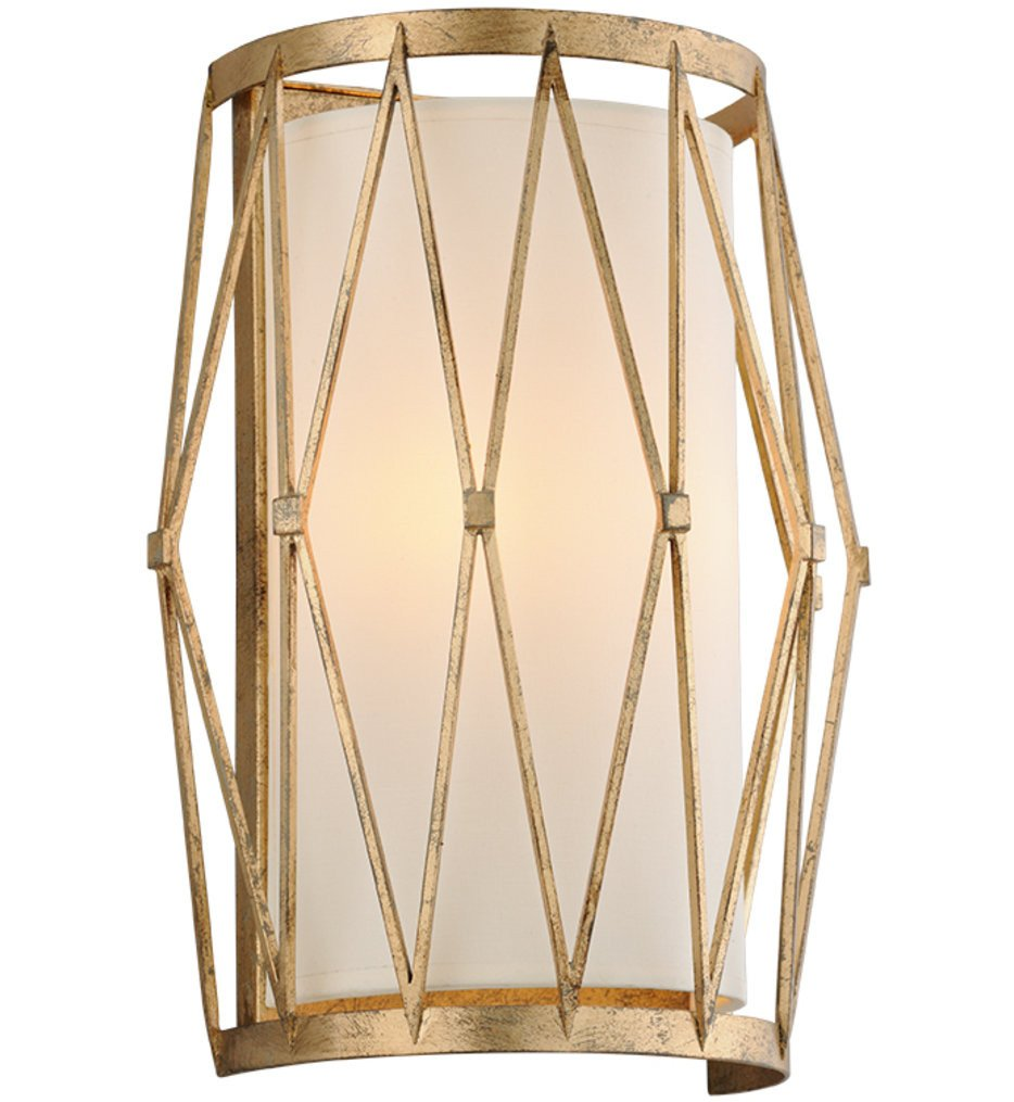 Troy Lighting - B4862 - Calliope Rustic Gold Leaf 2 Light Wall Sconce