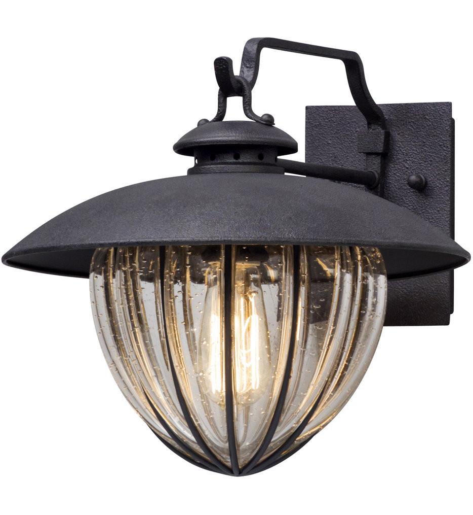 Troy Lighting - B5041 - Murphy Vintage Bronze 11.25 Inch Outdoor Wall Lantern