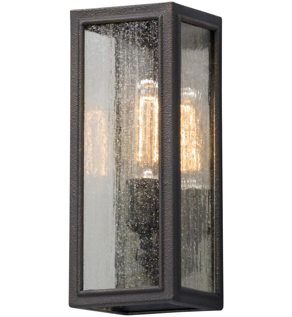 Troy Lighting - B5101 - Dixon Vintage Bronze 13 Inch Outdoor Wall Lantern