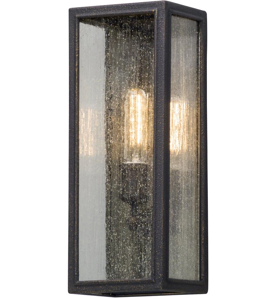 Troy Lighting - B5102 - Dixon Vintage Bronze 16.75 Inch Outdoor Wall Lantern