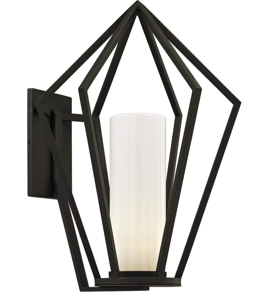 Troy Lighting - B6343 - Whitley Heights Textured Black 25 Inch 1 Light Outdoor Wall Lantern