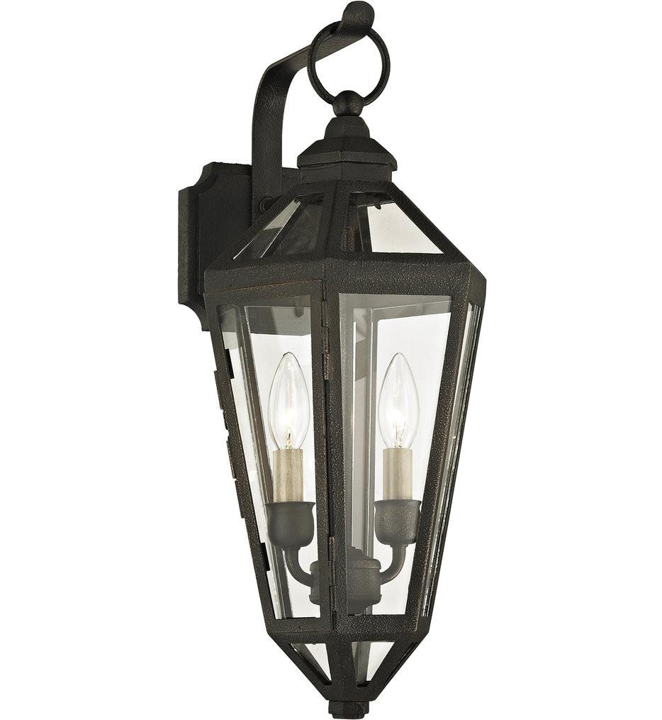 Troy Lighting - B6372 - Calabasas Vintage Bronze 2 Light Outdoor Wall Lantern