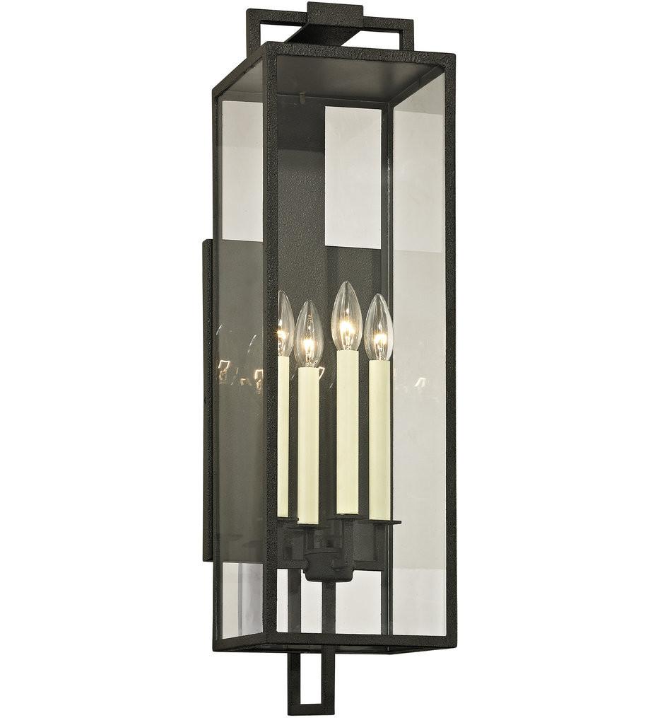 Troy Lighting - Beckham 4 Light Outdoor Wall Lantern