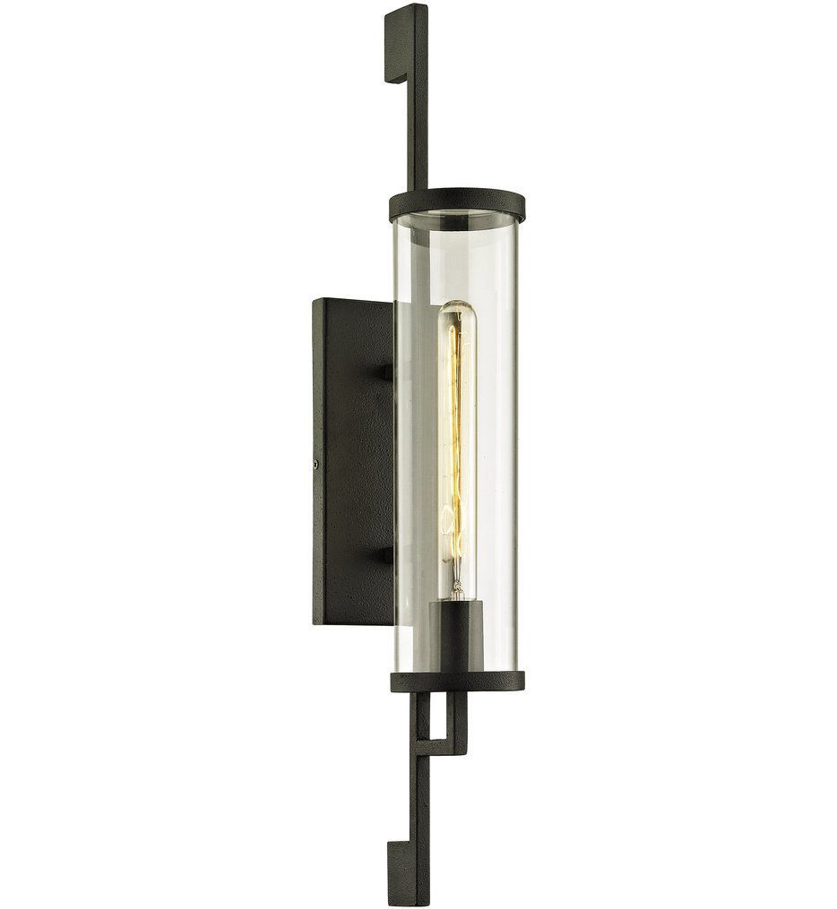 Troy Lighting - B6462 - Park Slope Forged Iron 26 Inch Outdoor Wall Sconce