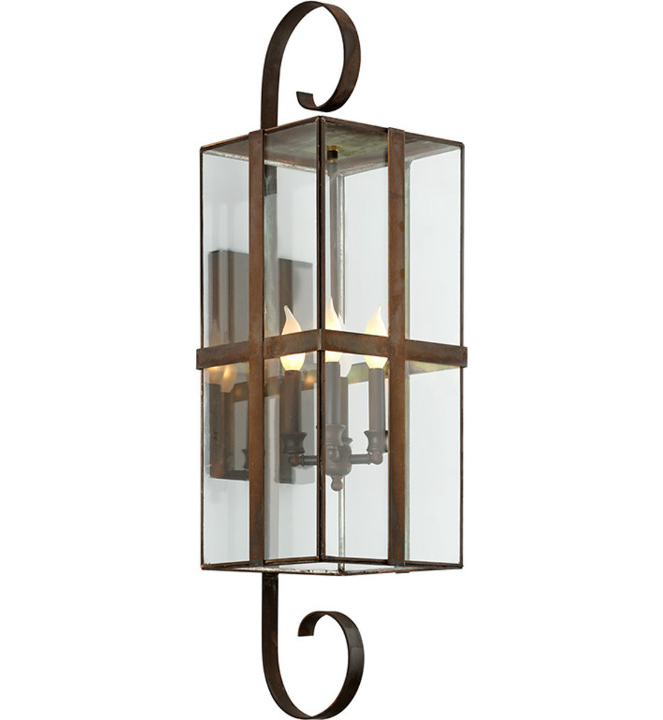 Troy Lighting - Rutherford 4 Light Outdoor Wall Lantern