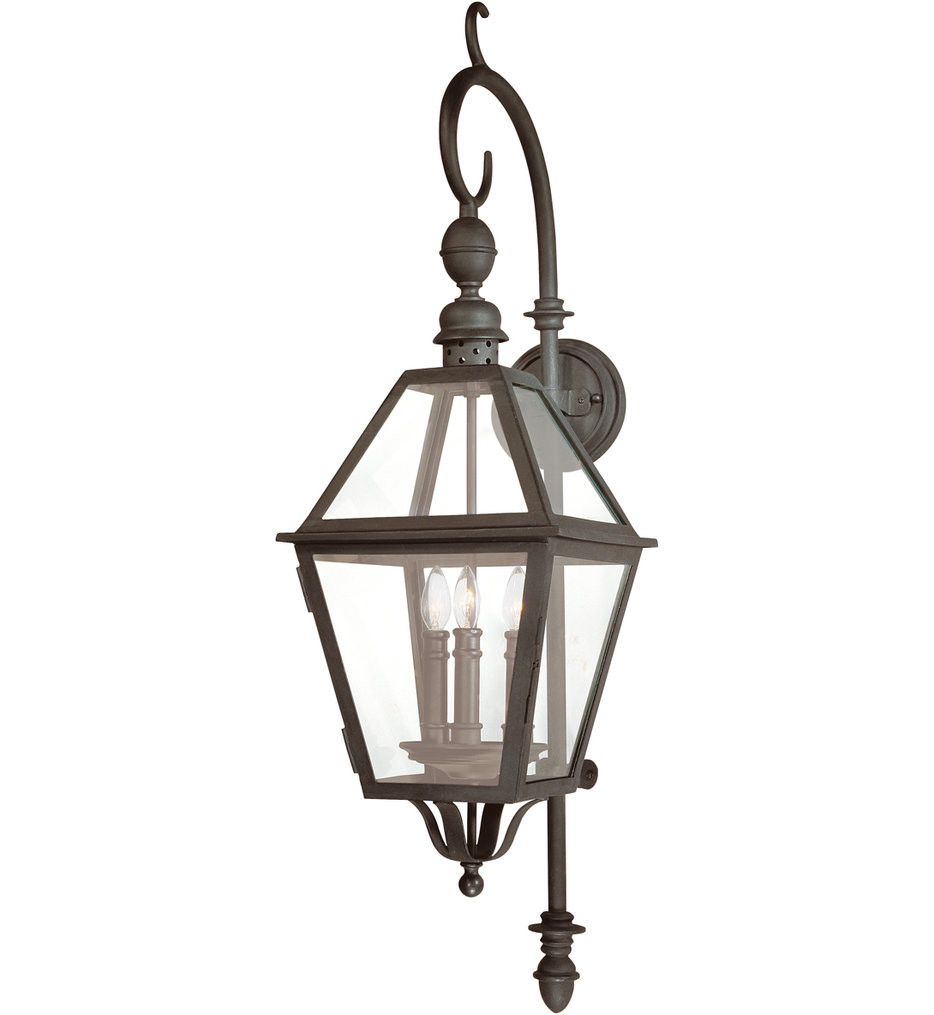 Troy Lighting - B9622NB - Townsend Natural Bronze 39.5 Inch 3 Light Outdoor Wall Lantern