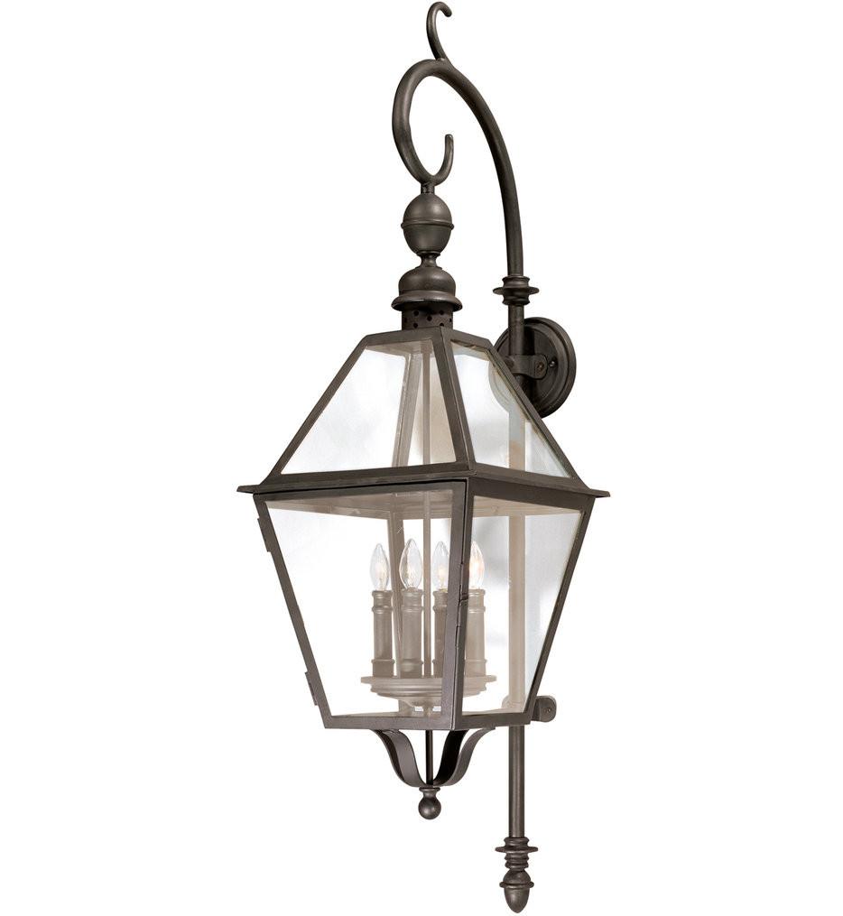 Troy Lighting - B9623NB - Townsend Natural Bronze 4 Light Outdoor Wall Lantern