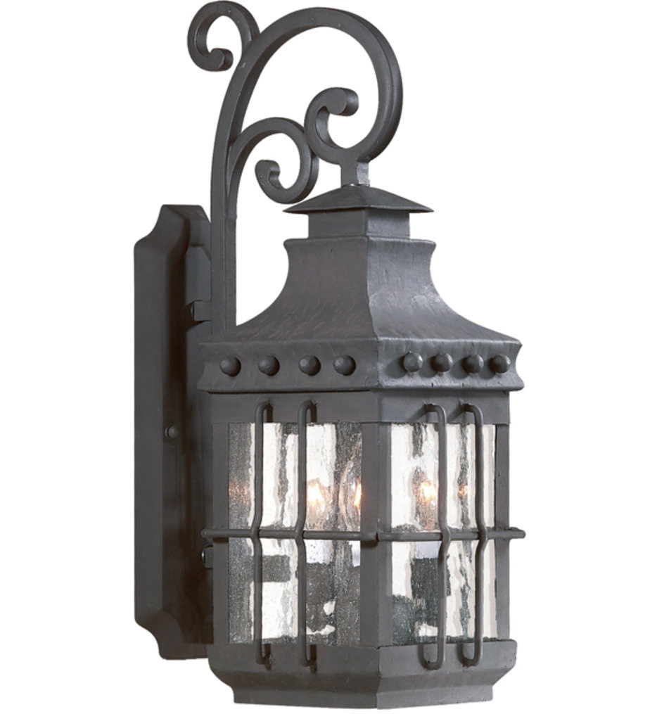 Troy Lighting - BCD8971NB - Dover Natural Bronze 3 Light Outdoor Wall Lantern