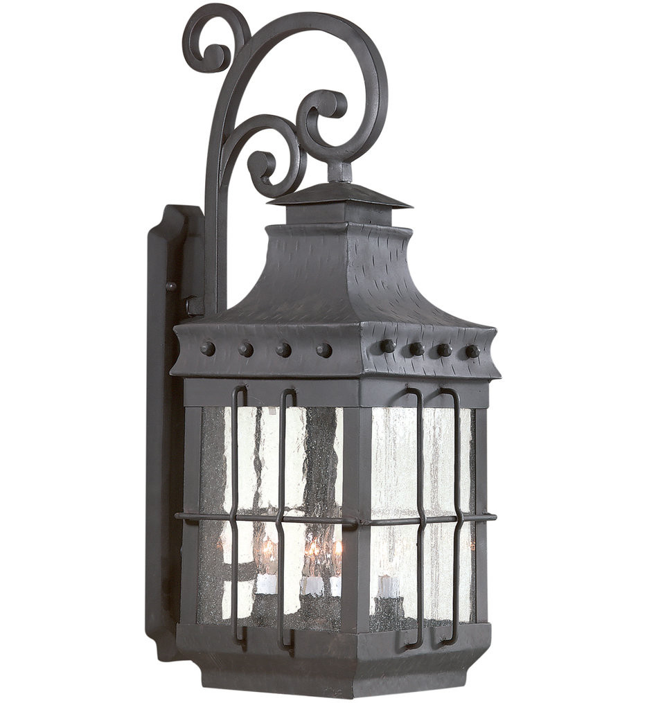 Troy Lighting - BCD8974NB - Dover Natural Bronze 4 Light Outdoor Wall Lantern