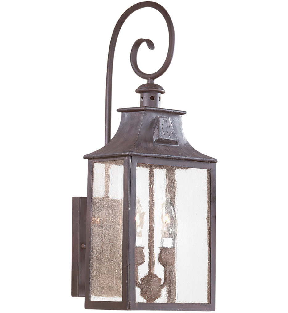 Troy Lighting - BCD9002OBZ - Newton Old Bronze 23 Inch 2 Light Outdoor Wall Lantern