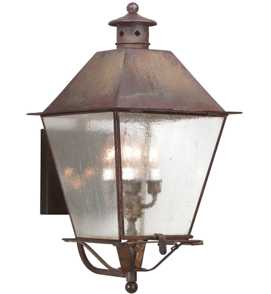 Troy Lighting - Montgomery 23.5 Inch 4 Light Outdoor Wall Lantern