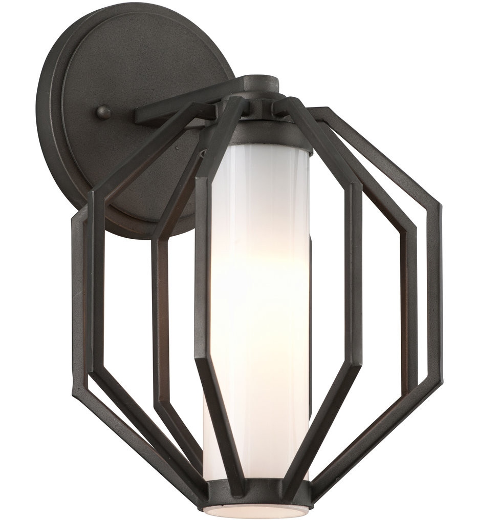 Troy Lighting - BL4981 - Boundary Textured Graphite 12.5 Inch Outdoor Wall Lantern