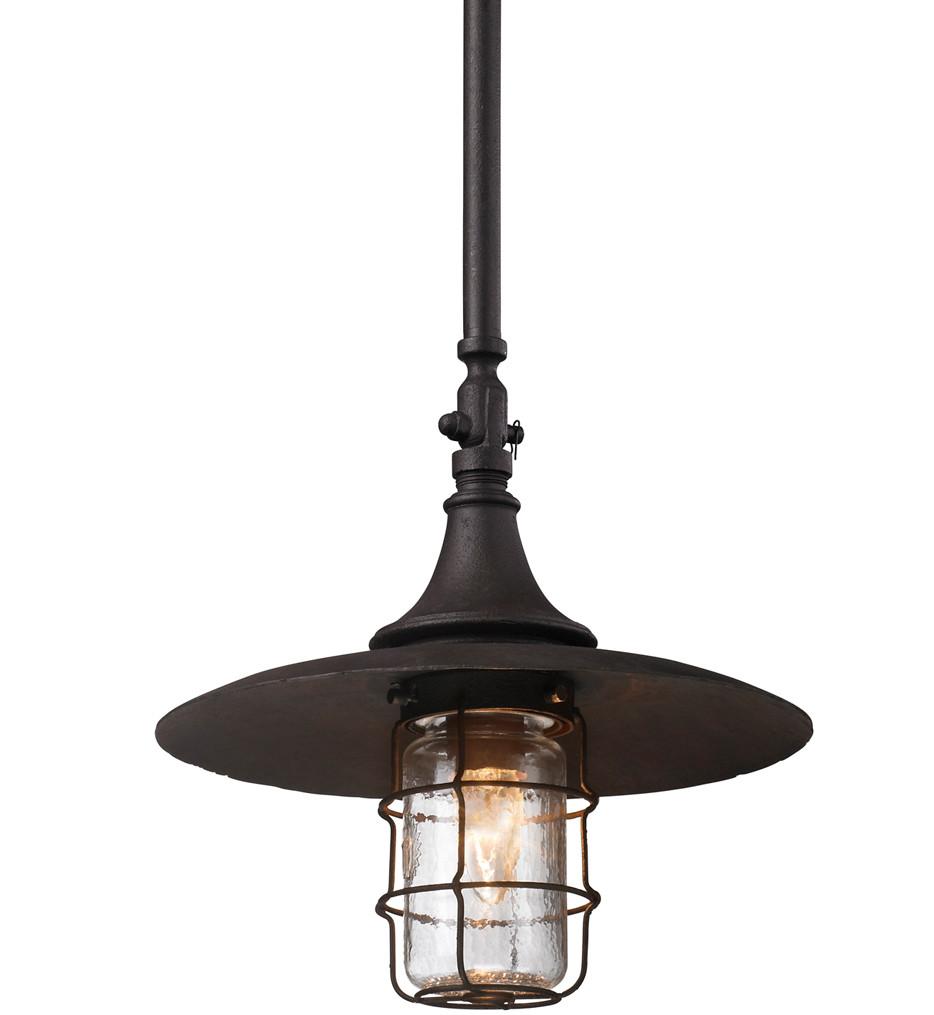 Troy Lighting - F3228 - Allegheny Centennial Rust 20.5 Inch Outdoor Hanging Lantern
