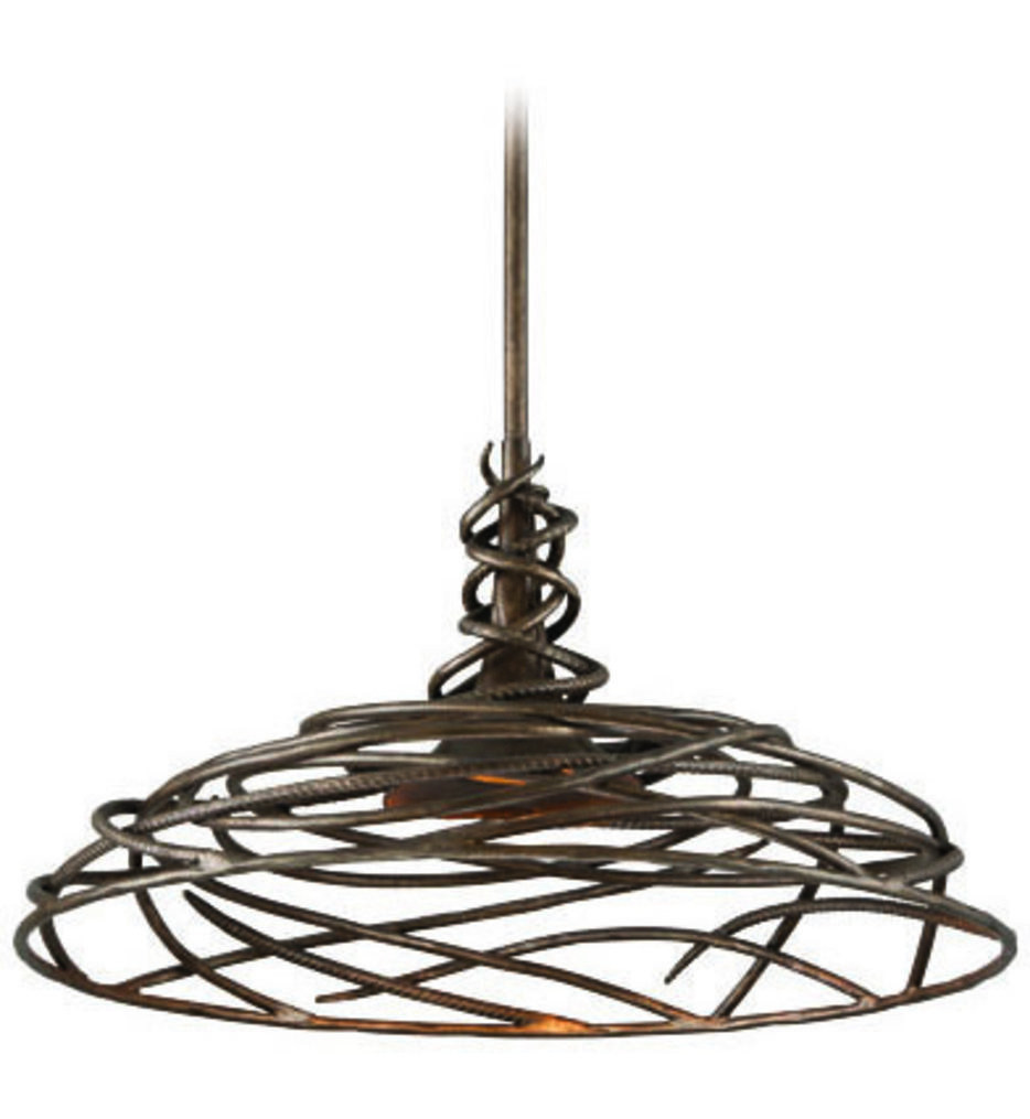 Troy Lighting - F4188 - Sanctuary Cottage Bronze 25 Inch 1 Light Pendant