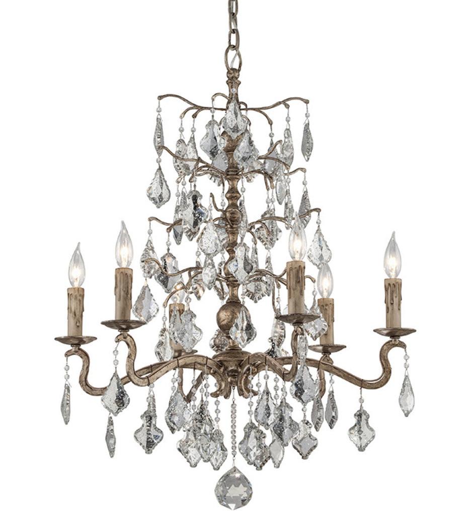 Troy Lighting - F4744 - Sienna Vienna Bronze 6 Light Chandelier