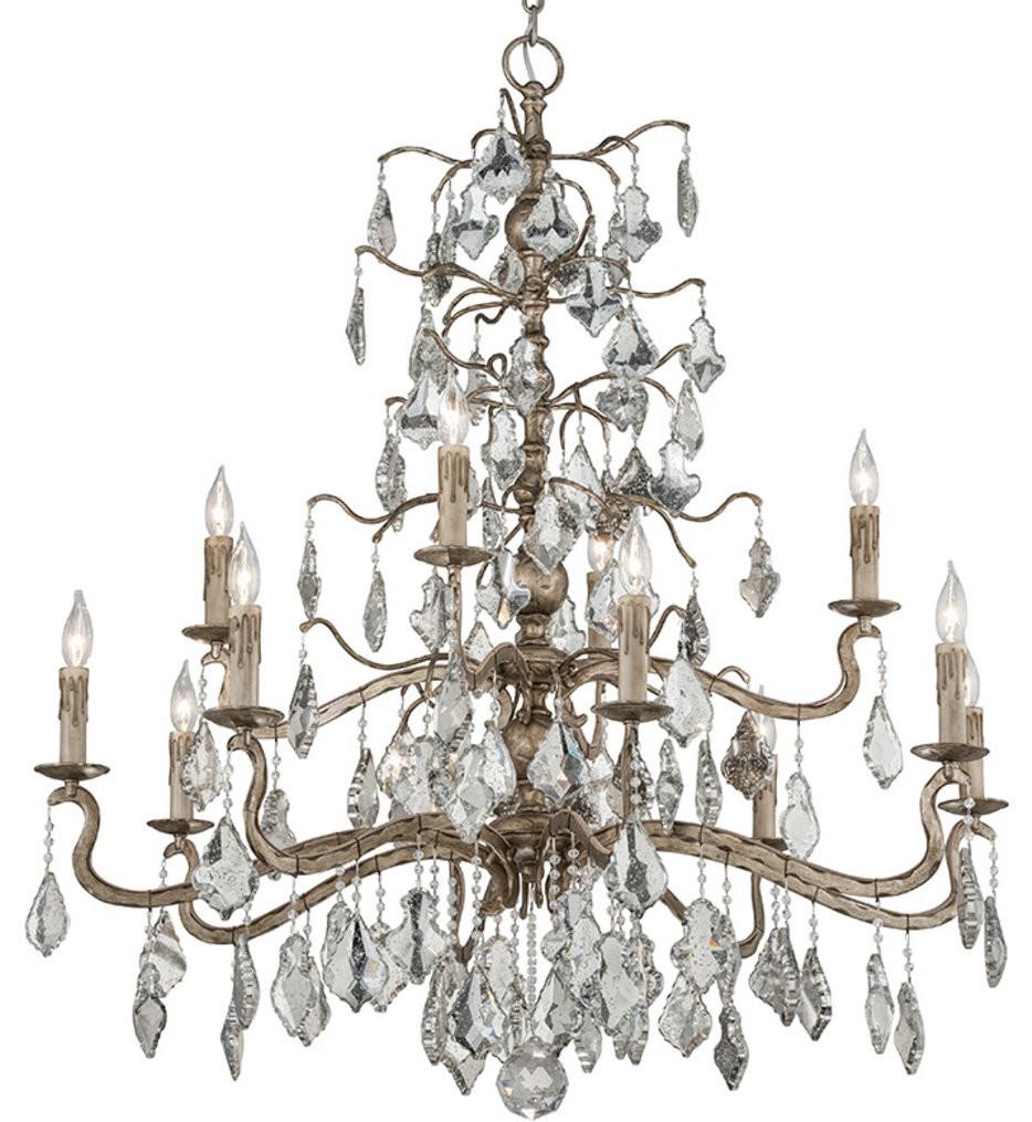 Troy Lighting - F4746 - Sienna Vienna Bronze 12 Light Chandelier