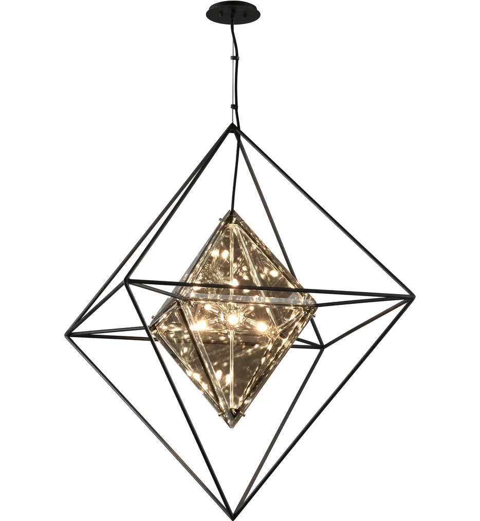 Troy Lighting - Epic Forged Iron Pendant