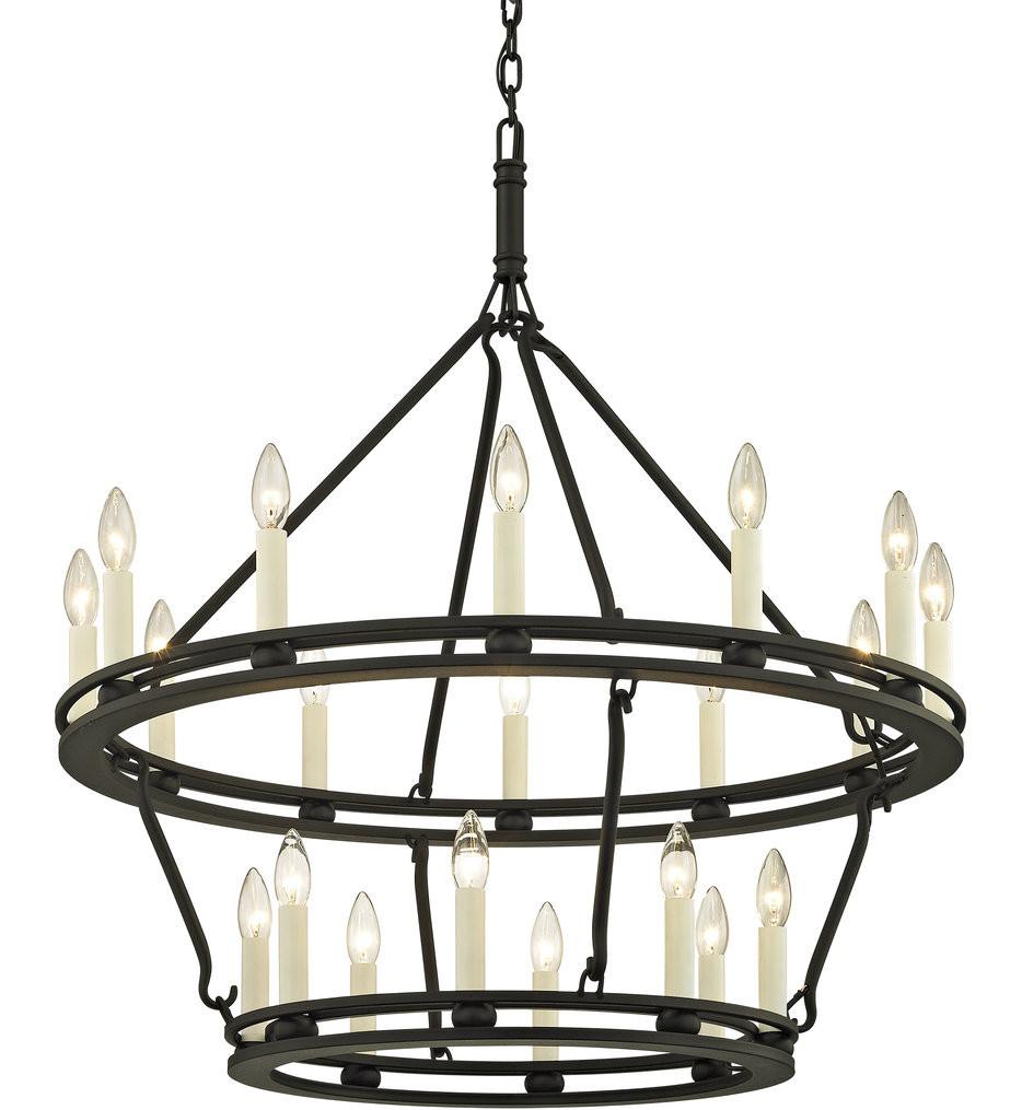Troy Lighting - Sutton 32 Inch 20 Light Chandelier