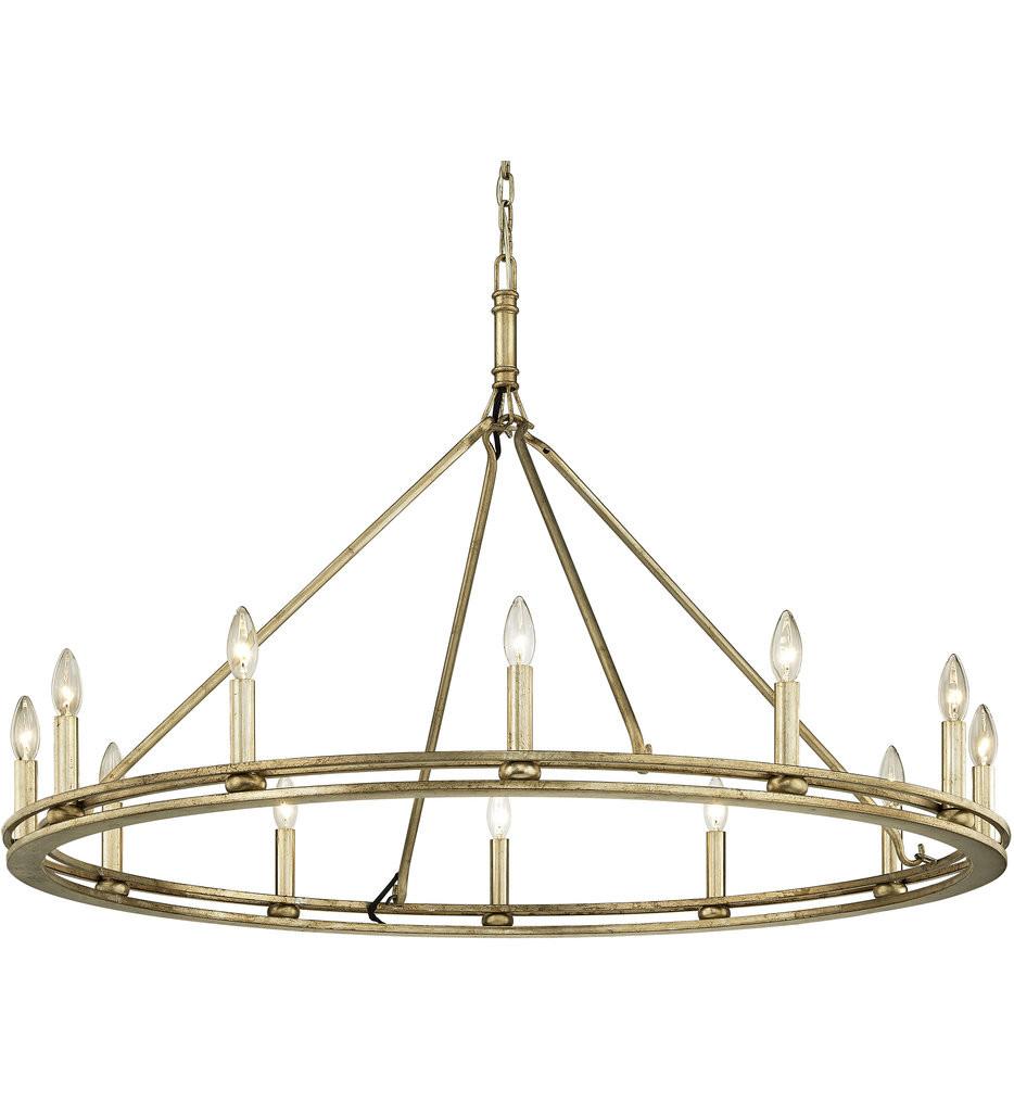 Troy Lighting - Sutton 12 Light Chandelier