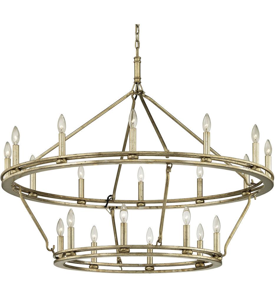 Troy Lighting - Sutton 44 Inch 20 Light Chandelier