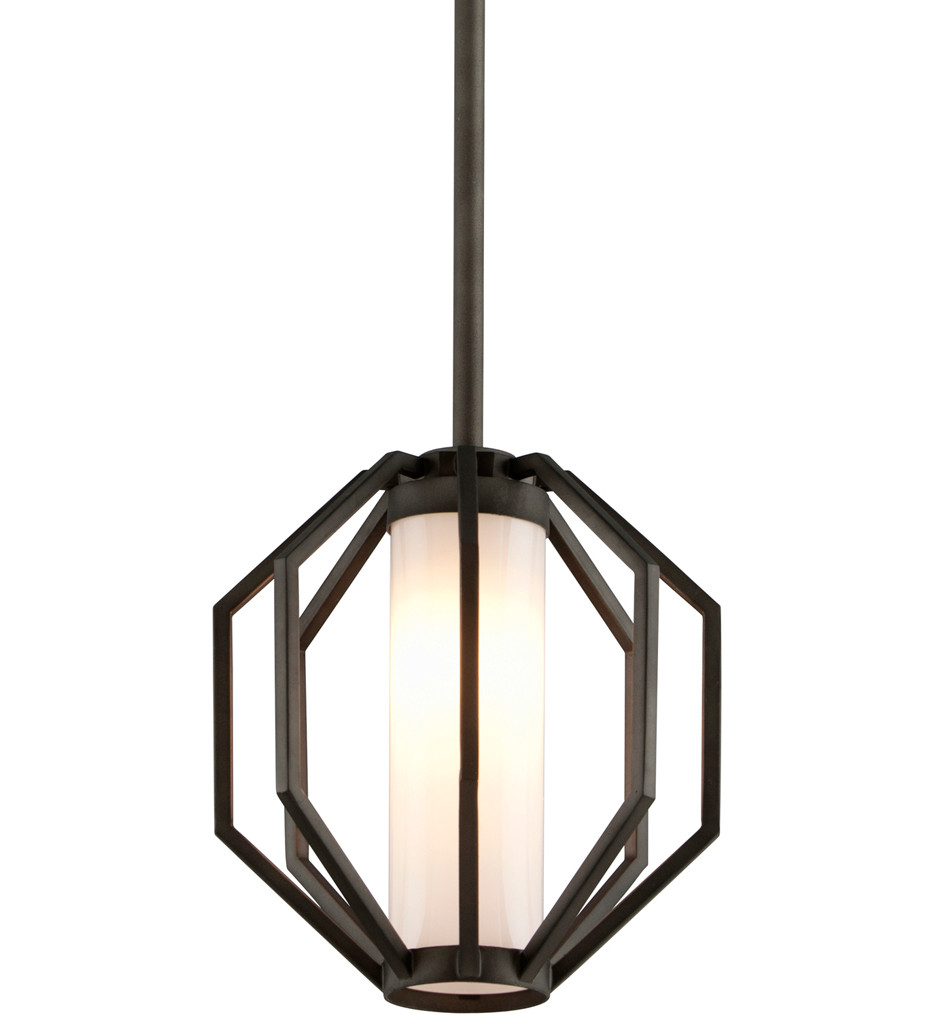 Troy Lighting - FL4987 - Boundary Textured Graphite 1 Light Outdoor Hanging Lantern